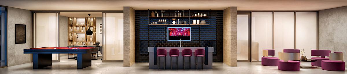 Lounge - Perspectiva Artística