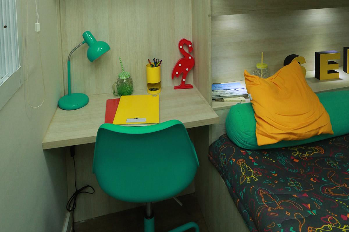 Parque das Cerejeiras - Dormitório do Apartamento Decorado