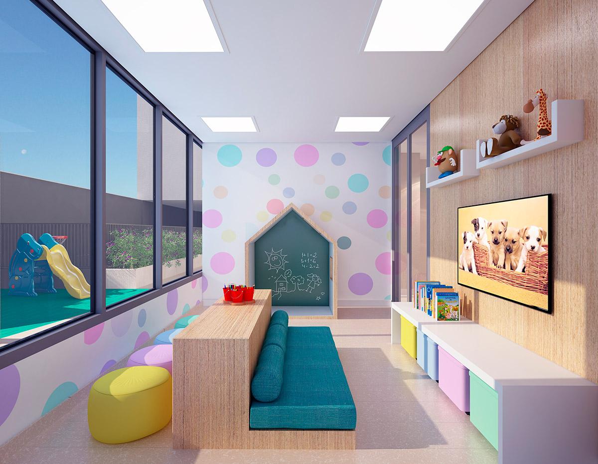 D'House - Perspectiva Artística da Brinquedoteca