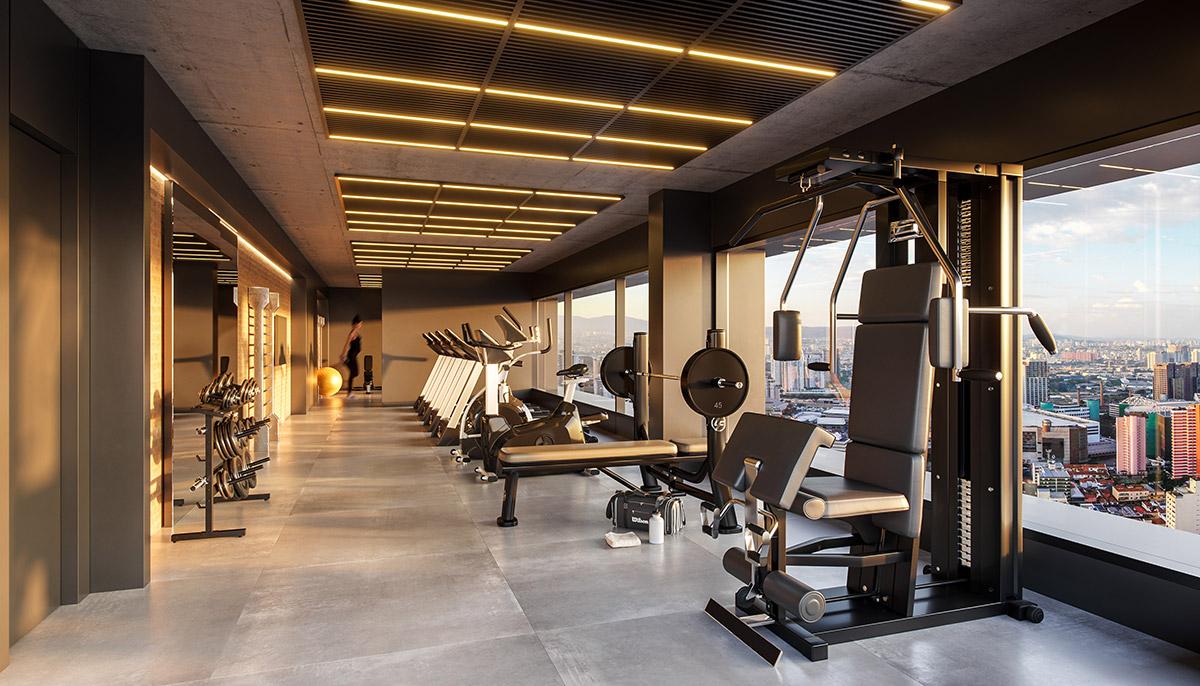 VA 433 Hospedagem - Perspectiva Artística do Fitness