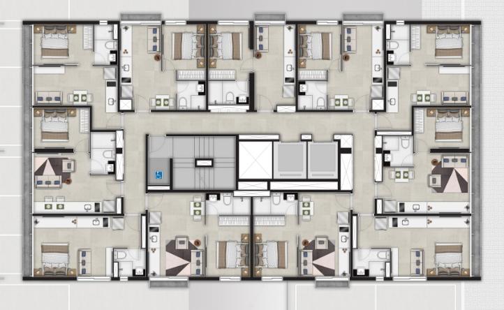 VA 433 Hospedagem - 1º andar