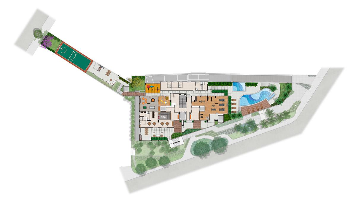 Vista Pompeia -